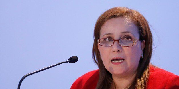 ANTALYA, TURKEY - MAY 27: Algeria's Minister of National Solidarity, Family Affairs Mounia Meslem Si...