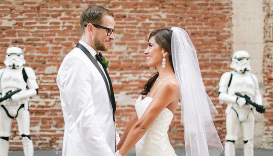Mariage: la force est avec ce