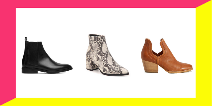 Ankle boots for fall that go with everything and you can walk for miles in.