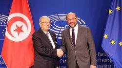 Devant le Parlement européen, Béji Caid Essebsi plaide pour un soutien substantiel de l'Union Européenne à la