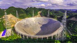 Le télescope géant chinois chasse les extraterrestres... et les