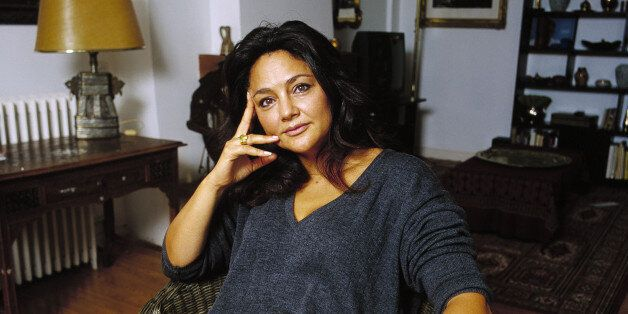 FRANCE - OCTOBER 01: Fawzia Zouari, writer in France in October, 1999. (Photo by Louis MONIER/Gamma-Rapho...