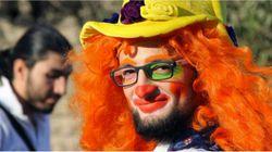 Le clown d'Alep qui réconfortait les enfants traumatisés est