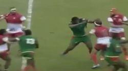 Cette bagarre générale lors d'un match de Rugby entre la Tunisie et le Sénégal fait le tour du monde