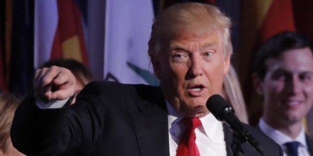 L'élection de Donald Trump, le premier jour d'un monde