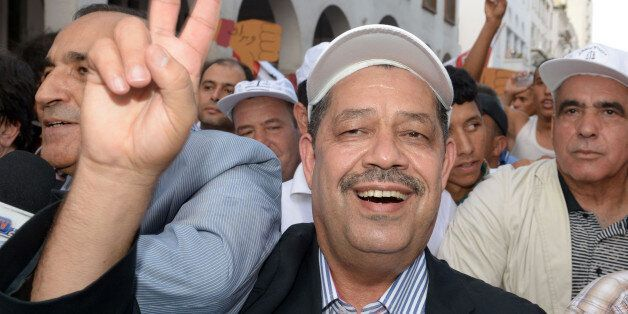 Moroccan politician and the current Istiqlal Party chief Hamid Chabat, who is also the mayor of Fez,...