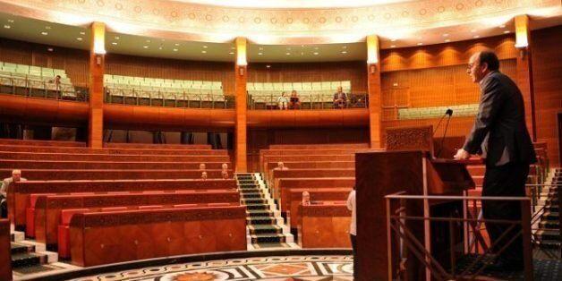 À l'ordre du jour du parlement marocain, se tourner les