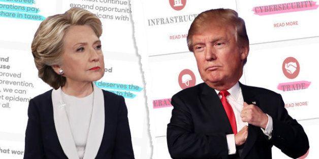 QUIZ - Hillary Clinton ou Donald Trump: qui a fait cette promesse en vue de l'élection présidentielle