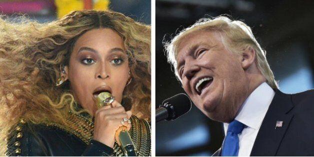 Donald Trump se vante d'attirer plus de monde qu'aux concerts de Beyoncé et Jay Z. Les fact-checkers...
