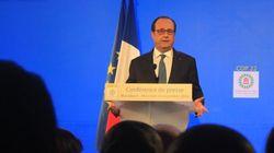 François Hollande à Marrakech: