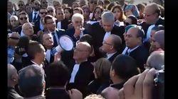 Fiscalité: Les avocats en grève haussent le ton devant