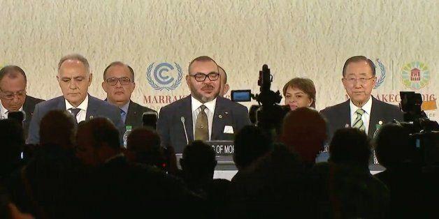 Mohammed VI à la COP22: