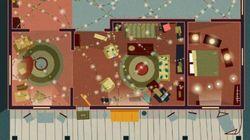Voici les plans des maisons de vos séries cultes