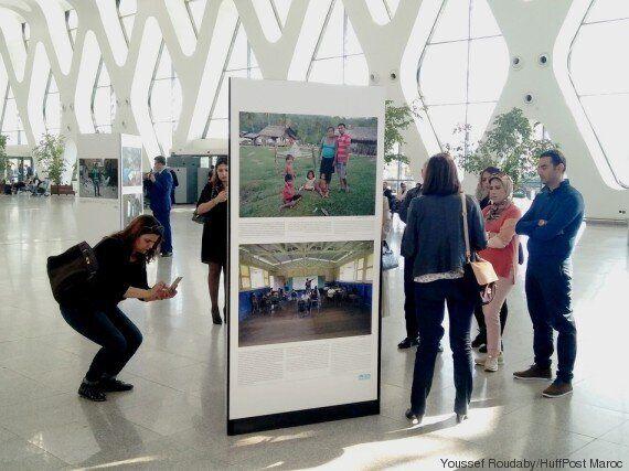 A Marrakech, une exposition veut montrer comment l'écologie peut changer nos