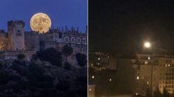 Ils s'attendaient à prendre des photos spectaculaires de la super Lune... c'est