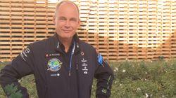 COP22: On a rencontré celui qui a fait le tour du monde en avion solaire