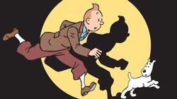 Une planche de Tintin décroche la