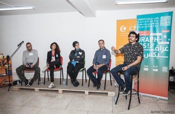 À Disrupt!/ Graphics!/, de jeunes Marocains mettent leur créativité au service de