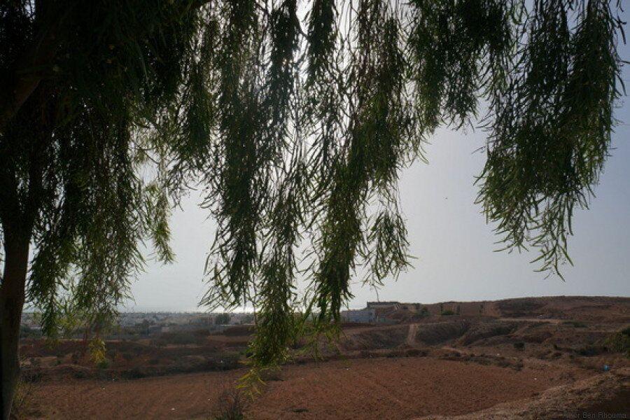Les trésors du sud Tunisien. Au gré de la route. À perte de vue