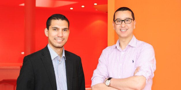De gauche à droite: Yassine Chabli et Said El