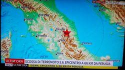 Italie : séisme de magnitude 5,4 ressenti à