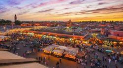 Parade et jeux de lumière à Marrakech pour l'entrée en vigueur de l'accord sur le