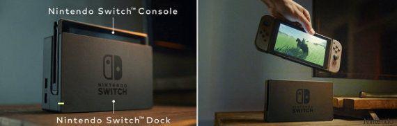 Nintendo dévoile Switch, sa nouvelle console de salon et