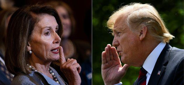 Nancy Pelosi y Donald