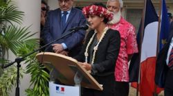 Najat Vallaud-Belkacem n'oubliera pas de sitôt l'inauguration de ce lycée en