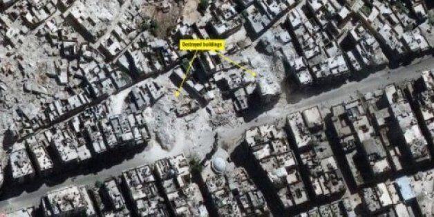 Des images satellite d'Amnesty International montrent la dévastation d'Alep en