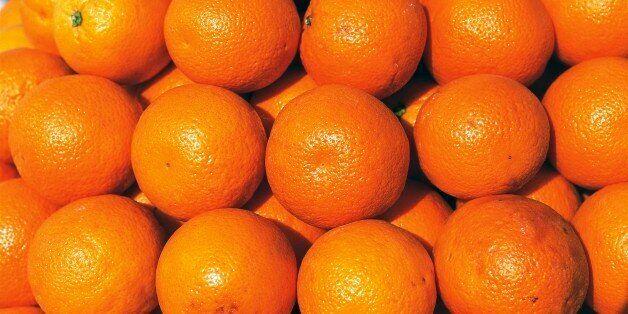 TUNISIA - MARCH 24: Oranges (Citrus sp), Rutaceae, Tunisia. (Photo by DeAgostini/Getty