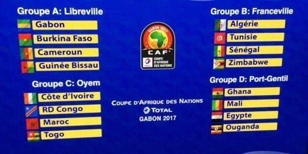 CAN 2017: l'Algérie face à la Tunisie, le Sénégal et le