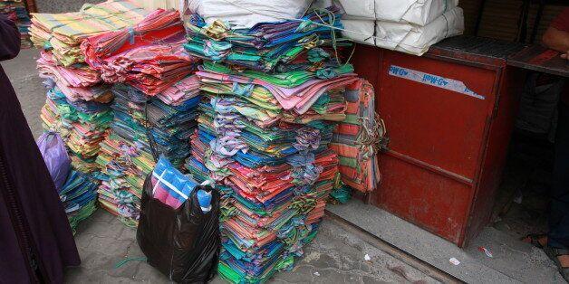 Arrestation d'un individu en possession de 5 tonnes de sacs