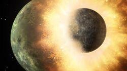 Une nouvelle théorie sur l'origine de la Lune qui explique nos 4