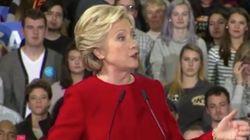 Hillary Clinton réagit enfin à la nouvelle enquête sur ses emails :