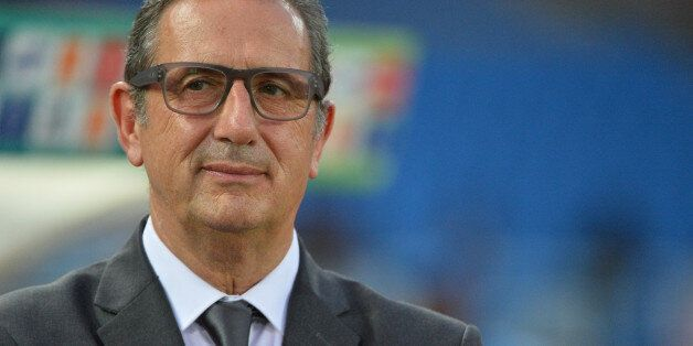 Tunisia ,s Georges Leekens during the 2015 Orange Africa Cup of Nations Final soccer match,RD-CongoVs...