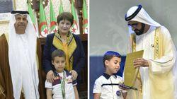 L'écolier algérien, âgé de 6 ans,