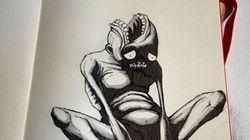 Ces sombres dessins valent tous les mots sur les maladies