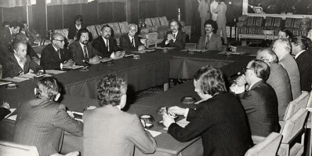 Photo d'archive du Parlement du royaume du