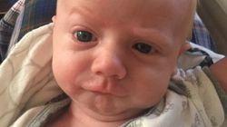 14 photos désopilantes du bébé le plus expressif au