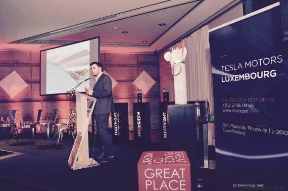 Le Tunisien Ahmed Mhiri remporte le Fleet startup Awards 2016 grâce à sa société