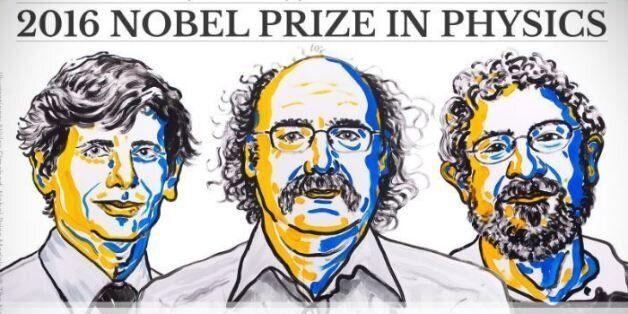 Le prix Nobel de physique 2016 décerné à David Thouless, Duncan Haldane et Michael Kosterlitz pour leurs...