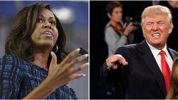 Michelle Obama dénonce les propos «intolérables» de Trump sur les