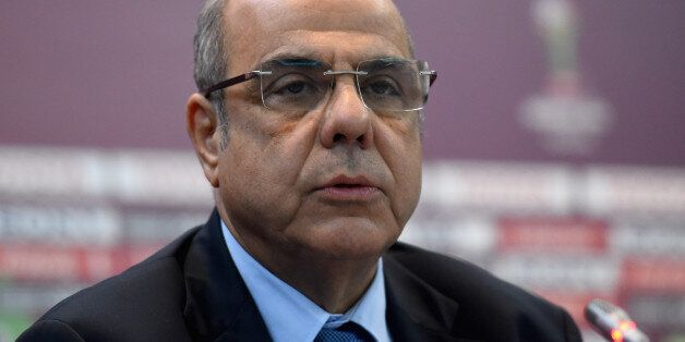 MARRAKECH, MOROCCO - DECEMBER 09: Mohamed Raouraoua, Chairman Organising Committee FIFA Club World Cup,...