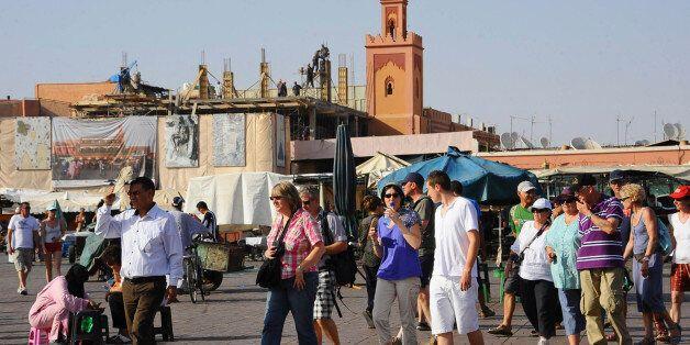 L'objet suspect retrouvé près d'un hôtel à Marrakech