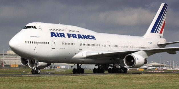 Quand des avions Air France
