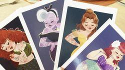 En images- Les princesses Disney en pin