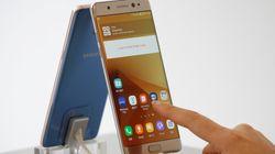 Batteries explosives: Samsung arrête la vente et les échanges du Galaxy Note 7