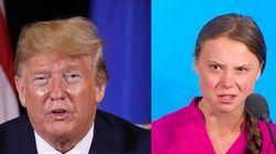 Greta Thunberg Responds To Trump's Sarcastic Tweet With Some Genius