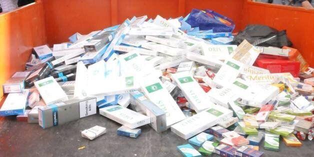 Tunisie: La police saisit pour plus d'un million de dinars de cigarettes de contrebande, des échauffourées
